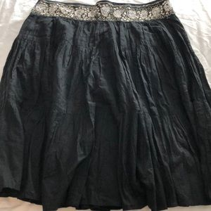 BCBG Cotton Sequin Skirt